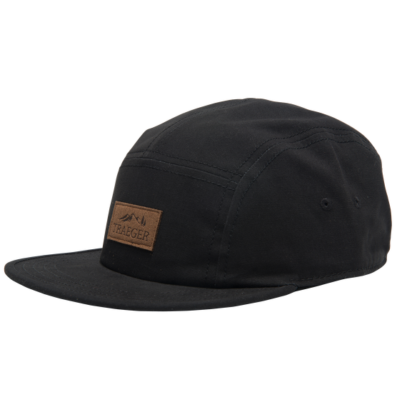 0a187212451a9 BLACK HAT 5 PANEL ADJUSTABLE - The Grill Center